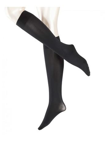 Falke Pure Shine 40 Ladies Knee-highs black