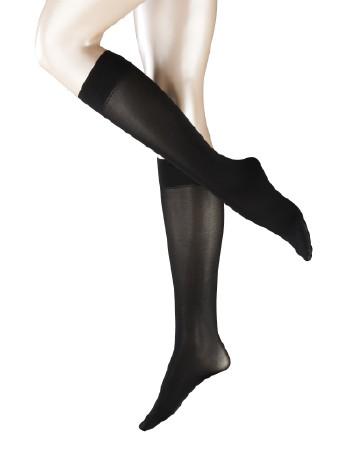 Falke Seidenglatt 40 Knee-Highs black