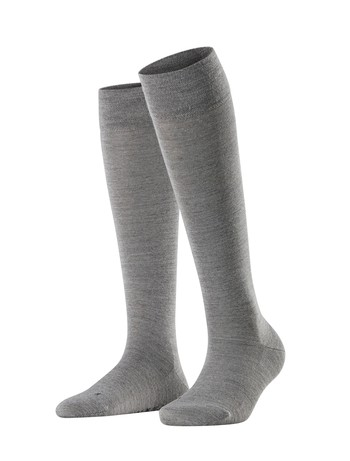 Falke Sensitive Berlin Women's Knee High Socks light grey