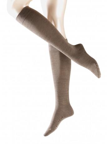Falke Merino Wool Knee High Socks pebble