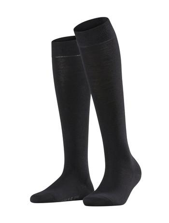Falke Softmerino Knee High Socks black