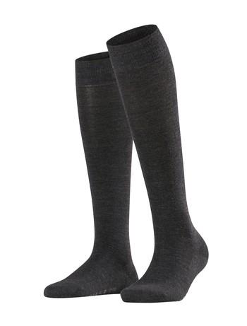Falke Softmerino Knee High Socks anthracite mel.