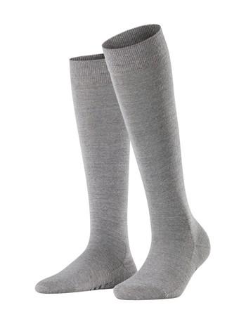 Falke Softmerino Knee High Socks light grey