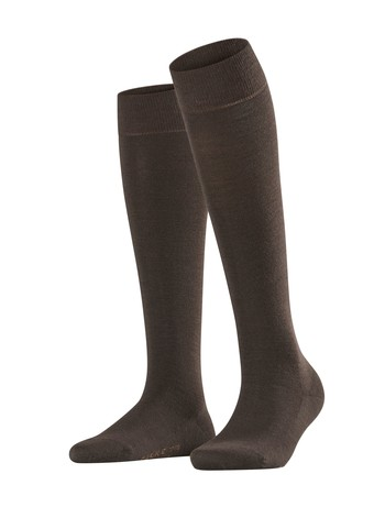 Falke Softmerino Knee High Socks darkbrown