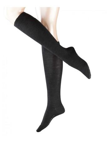 Falke Merino Wool Knee High Socks anthracite mel.