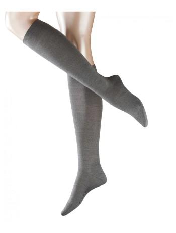 Falke Merino Wool Knee High Socks light grey