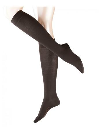 Falke Merino Wool Knee High Socks darkbrown