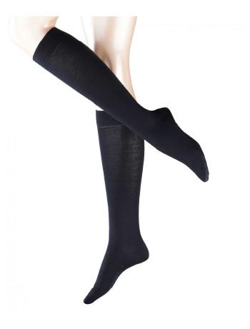 Falke Merino Wool Knee High Socks dark navy