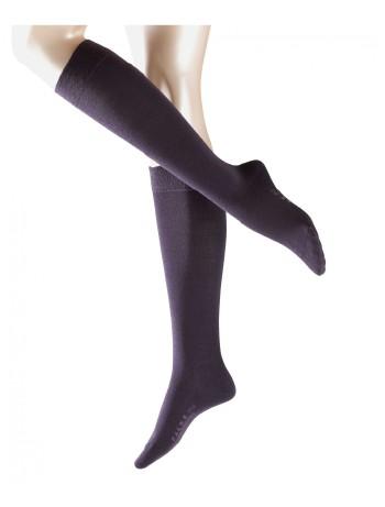 Falke Merino Wool Knee High Socks elder (eggplant)