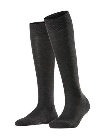 Falke Wool Balance Ladies Knee High Socks anthracite mel.