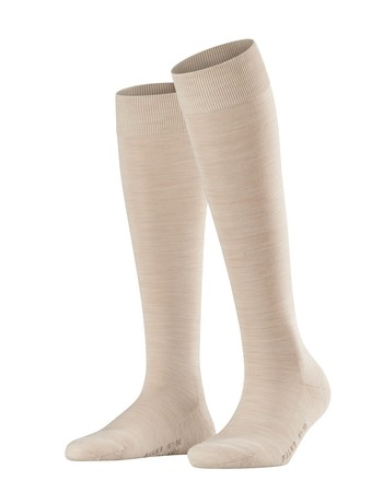 Falke Wool Balance Ladies Knee High Socks sand melange