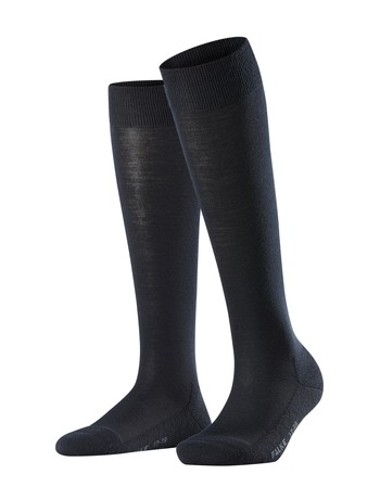 Falke Wool Balance Ladies Knee High Socks dark navy