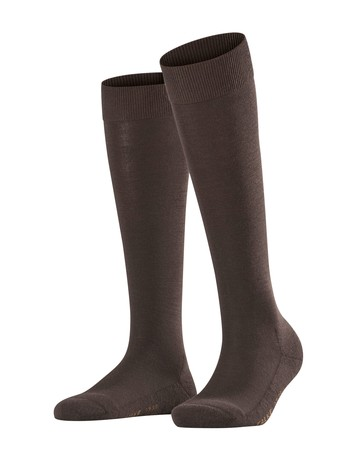 Falke Wool Balance Ladies Knee High Socks darkbrown