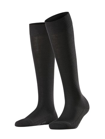 Falke Wool Balance Ladies Knee High Socks black