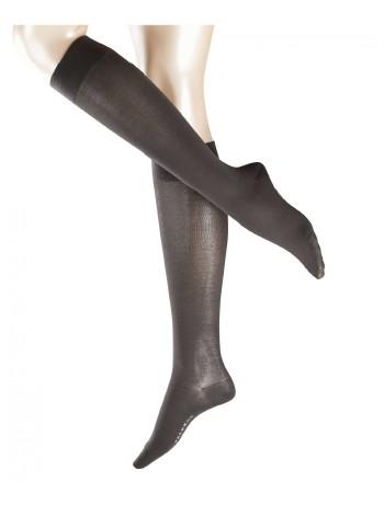 Falke Cotton Touch Ladies Knee High Socks anthrazit