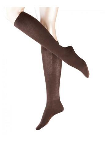 Falke Family Knee High Socks darkbrown