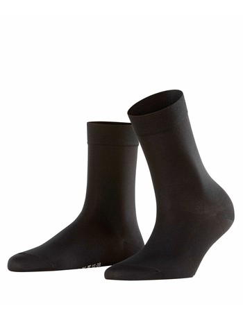 Falke Cotton Touch Ladies Socks black