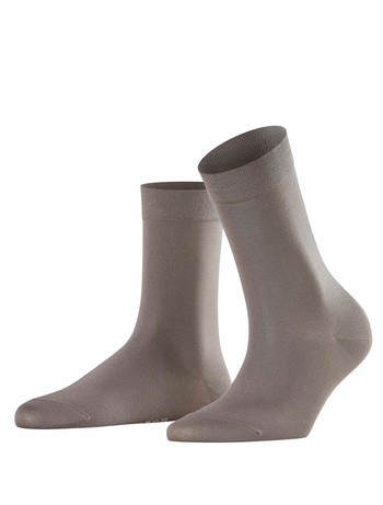 Falke Cotton Touch Ladies Socks platinum