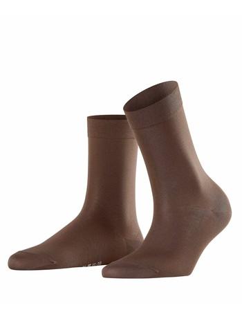 Falke Cotton Touch Ladies Socks darkbrown