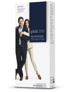 Gilofa 2000 microfibre support Knee Highs unisex