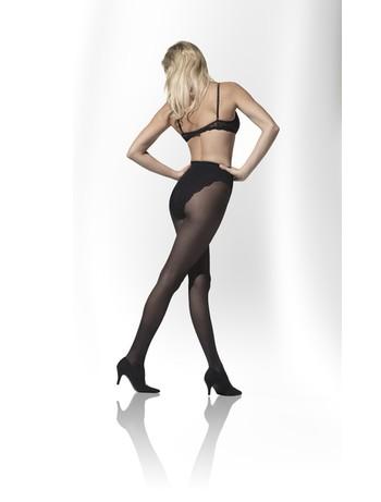 Gilofa Fine 70 support tights in plus size