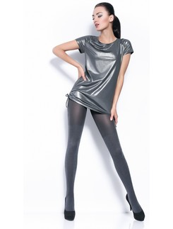 Giulia Twice melange 120 #1 cotton tights
