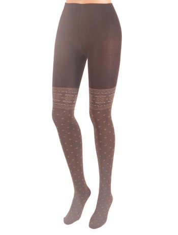 Giulia Scandy Tights caffe