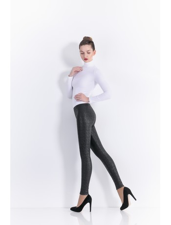 Giulia Leggy Strong #10 - Lederleggings fume