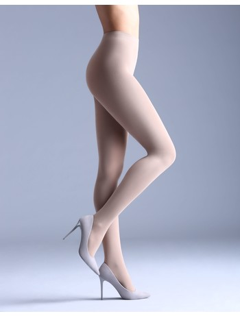 Giulia Samba 40 colored tights panna