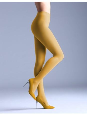 Giulia Samba 40 colored tights yellow moon