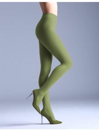 Giulia Samba 40 colored tights olive