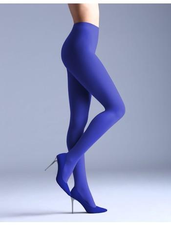 Giulia Samba 40 colored tights Deep Blue