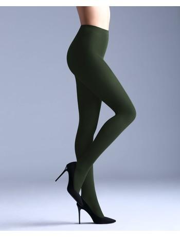 Giulia Samba 40 colored tights deep green