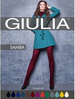 Giulia Samba 40 colored tights