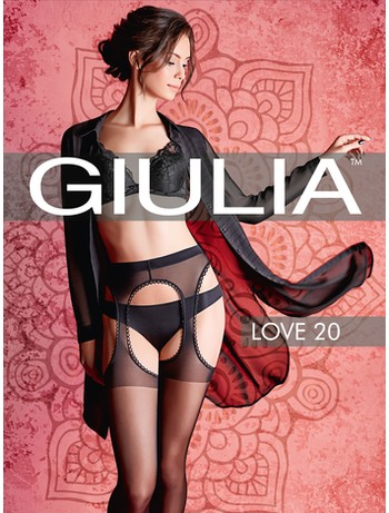 Giulia Love 20 Suspender tights