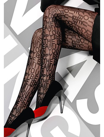 Giulia Quibble 20 patterned tights