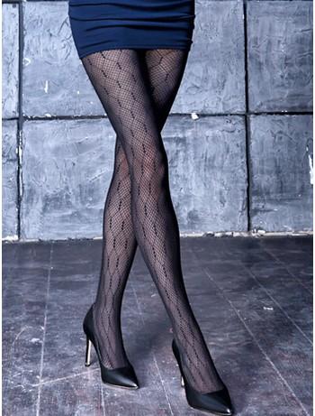 Giulia Ajour 60 -3 tights nero