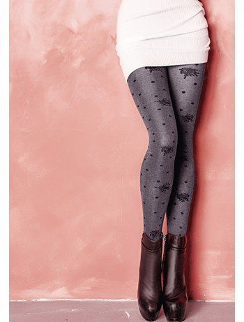 Giulia Enigma 150 #5 tights light grey