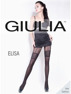 Giulia Elisa 40 #2 Tights with Suspender Pattern