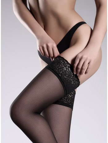 Giulia Emotion Rete Vision 40 Fishnet Stockings nero