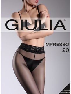 Giulia Impresso 20 transparent hip tights