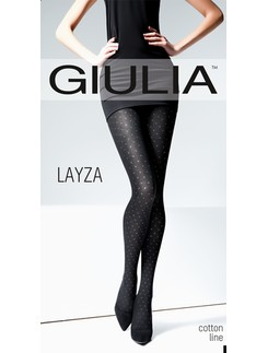 Giulia Layza 120 #4 patterend cotton tights