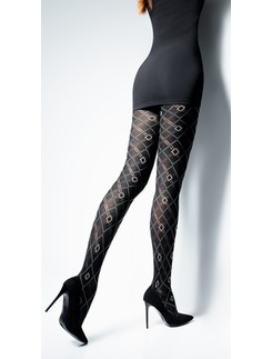 Giulia Bonita 150 patterned cotton tights