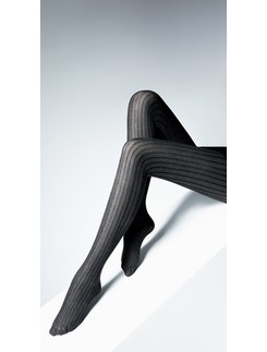Giulia Canto striped cotton tights