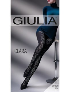 Giulia Clara 200 #2 patterend cotton tights