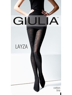 Giulia Layza 120 #3 wild patterened cotton tights