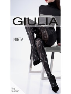 Giulia Mirta 100 #3 patterned ajour tights