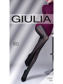 Giulia Rio 150 #2 patterned cotton tights