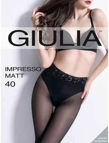 Giulia Impresso Matt 40 tights nero