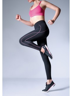 Giulia Legging Sport Air Microfiber  Black